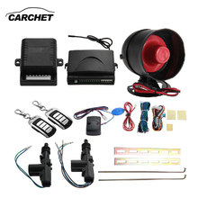 CARCHET Universal 2 Set Car Remote Keyless Entry Alarm System Kit Waterproof 12V Locking Protection Central Vehicle Controllers(China)