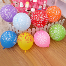 New Brand 5PCs  12'' Colorfull  Wedding Birthday Party Decoration Globos Party Balloon Home Decor Event & Party Supplies Round B