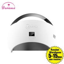 Sunuv SUN6 48W Nail Machine UV Led Lamp manicure Nail Dryer Lamp for Nails Gel Polish Dryer Low Heat mode nail polish