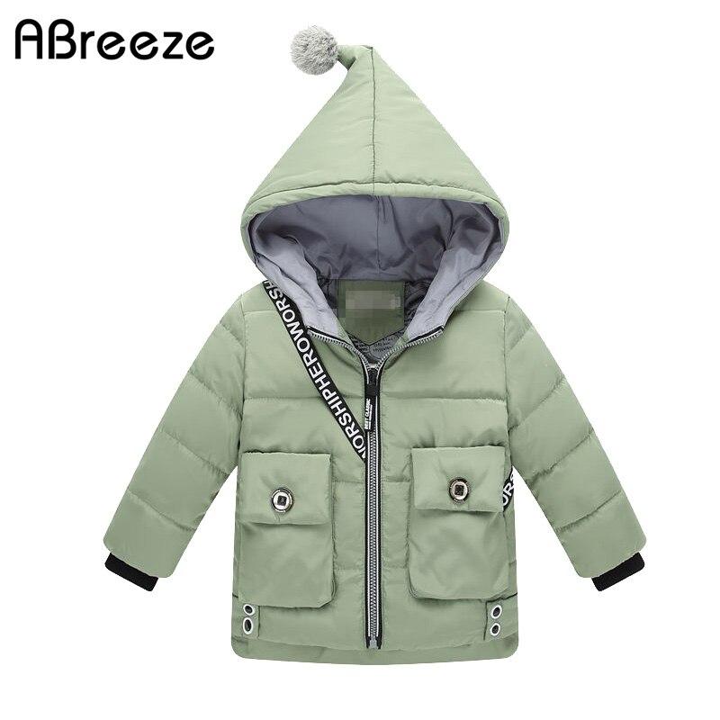 New 2017 winter kids girls boys jackets Fashion hooded thermal warm duck Down &amp; parkas for children windbreaker clothing 2-7TÎäåæäà è àêñåññóàðû<br><br>