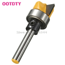 "3/4"" W X 7/16"" H 1/4"" Shank Flush Trim Hinge Mortise Template Router Mills Bit #G205M# Best Quality(China)"