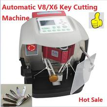 2017 New Automatic V8X6 Key Cutting Machine X6 Car Key Maker V8Auto Key Programmer Better than slica Miracle A7 3 Years Warranty