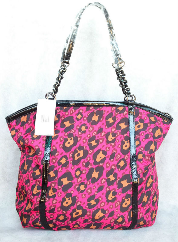New Fashion bag  Pink leopard pattern chain shoulder bags   women handbags<br><br>Aliexpress