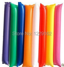Free Shipping (10pairs/lot) Inflatable cheering stick air bang stick hand clap stick for parties and sports games(China)