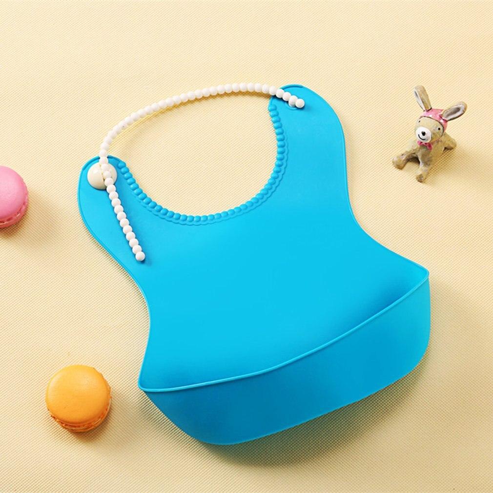 New Cartoon Boy Girl Bibs apron Waterproof Kids Silicon Bib Baby Bib Children's summer Adjustable Bib Baby Feeding Tools 2018