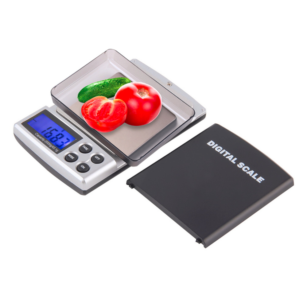 1pc Holiday Sale 2000g x 0.1g Pocket Electronic Digital Jewelry Scales, Weighing Kitchen Scales Balance, free shipping Hot<br><br>Aliexpress