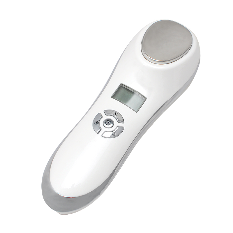 Handheld Hot Cooling System Skin Firming Device Skin Rejuvenation Sonic Beauty<br>