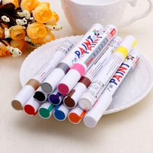 Universal Waterproof Car Tyre Tire Pen Permanent Tread Rubber Metal Paint Marker(China)