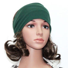 Women Wide Yoga Headband Stretch Hairband Elastic Hair Band Head Wrap Turban Hot(China)