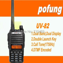 DHL Freeship+2016 New Arrival Pofung uv-82 uv82 handy walkie talkie 10km Vhf UHF Waterproof Professional FM Transceiver dualband