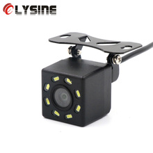 Olysine 8 LED Night Vision Car Rear View Camera RCA Universal Backup Parking Camera Rearview Waterproof Wide Angle Auto Cameras(China)