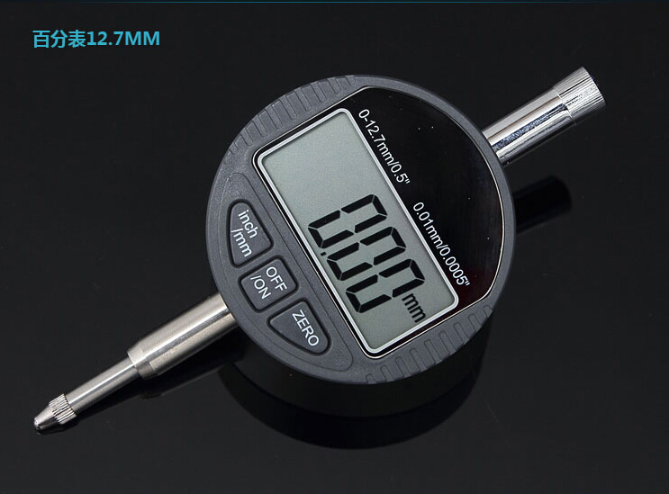 12.7mm Electronic Dial Indicator 0.01mm Digital dial Indicator Meter Large LCD Millimeter Indicator Gauge Measurement Tools<br><br>Aliexpress