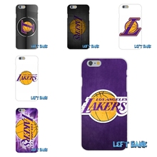 los angeles lakers basketball team logo Soft Silicone TPU Transparent Case For LG Spirit G2 G3 G4 G5 K4 K7 K8 K10 V10 V20 Mini