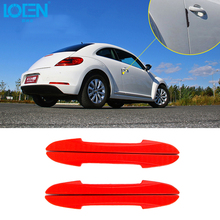 4PCS/Lot Blade Shape Car Door Crash Protector Car Stickers Guard Edge Corner Bumper Protection Strip Car Styling Protect Sticker