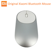 XMSB01MW Original Xiaomi Mi Bluetooth 4.0 Portable Wireless Mouse Optical RF 2.4GHz Dual Mode Connect for Gaming Gamer Computer