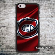 Montreal Canadiens Flag Case For iPhone 7 6 6s Plus 5 5s SE 5c and For iPod 5 High Quality Classic Ultra Cover Free Shipping
