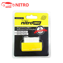 Nitro OBD2 for Diesel Benzine Car Chip Tuning Box Plug And Drive Nitro OBD2 After 1996 Raise Power ECO Saving Fuel