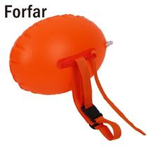Forfar Safety Swimming Inflatable Float Buoy Flotation Ball For Open Water Sea(China)