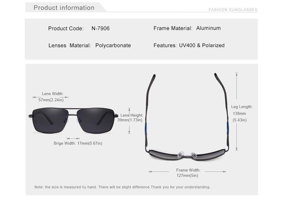 Vintage Polarized Sunglasses N7906
