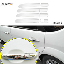 8x Car Styling Chrome Door Handle Cover Side Sticker For Ford Focus 2 3 2009-2015 Kuga 2013 Accessories