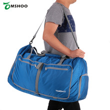 TOMSHOO Waterproof Polyester Men/Women Gym Bags Large Capacity 80L Foldable Packable Duffle Travel Bag Sports Bags