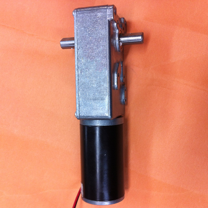 DC 24V  6rpm  micro worm Geared Motor with Self-locking function , robot Worm Gear Moto, micro motor with worm gearbox<br>