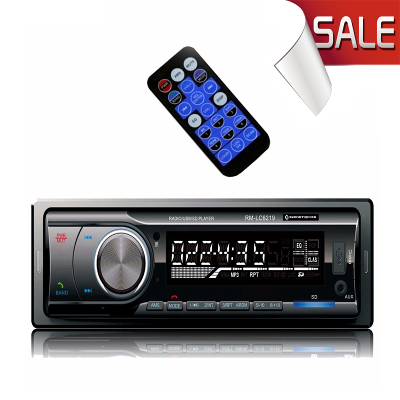 Car AM/FM MP3 Stereo Radio Receiver Aux with USB SD 40HM, Bluetooth Car AM/FM/USB/SD/MP3 Player 87.5-108.0MHZ Free Shipping(China (Mainland))