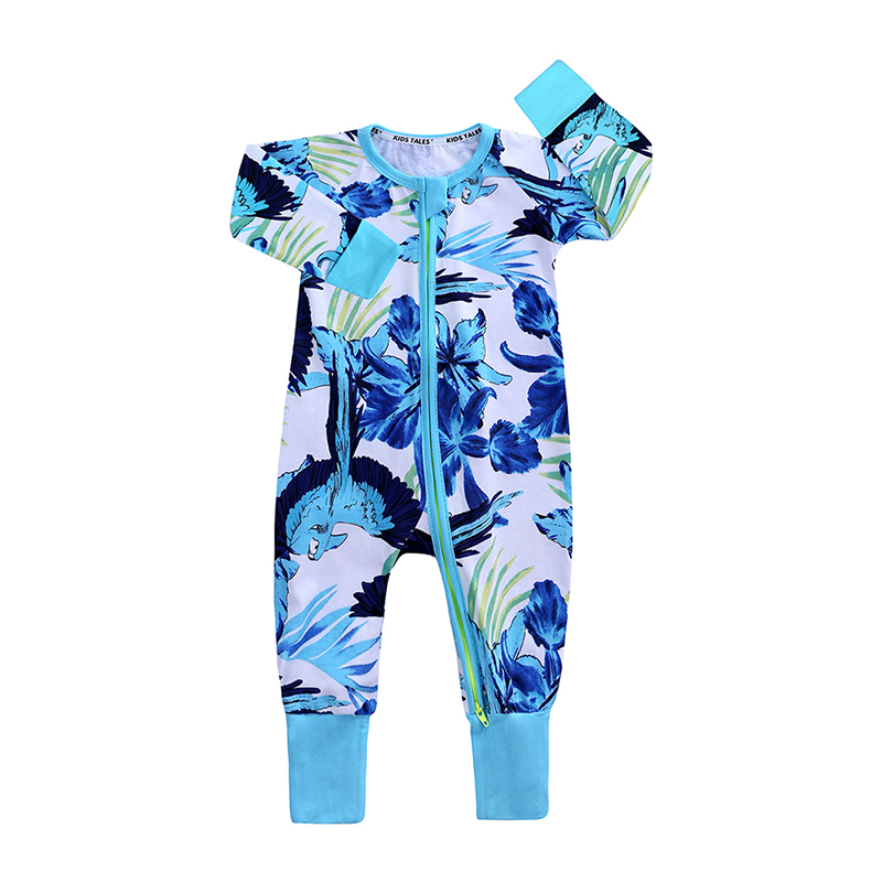 newborn baby rompers new born boy girl clothes floral print long sleeve romper toddler costume kids infant jumpsuit summer 2019