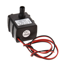 Ultra-quiet DC 12V 3M 240L/H Brushless Submersible Water Pump High Qualtiy mini electric submersible waterpump