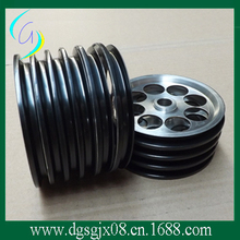 Ceramic Coating wire guide pulley/ cone pilley /roller for fiber and cable industry