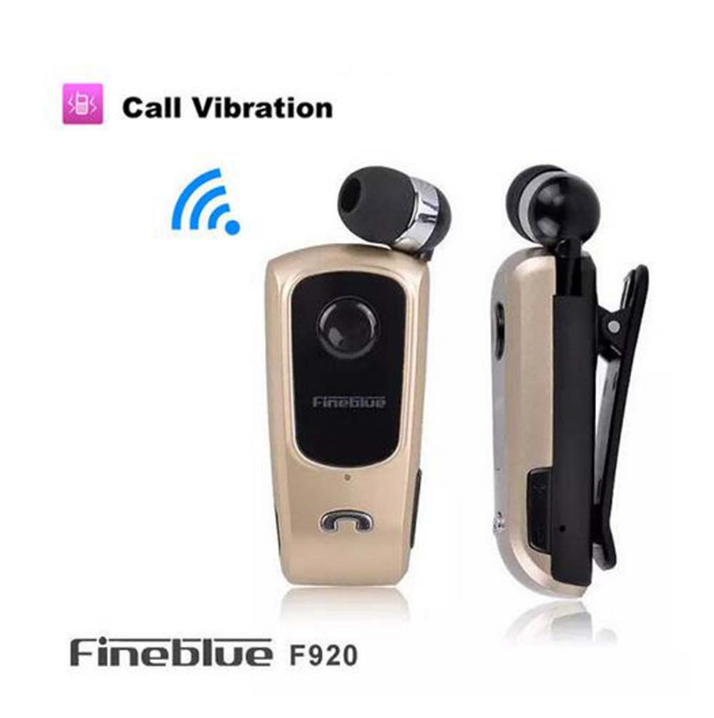 2015 Original Brand FineBlue F920 Wireless Bluetooth Earphone Calls Remind Vibration Wear Clip Headset For iPhone Samsung HTC<br><br>Aliexpress