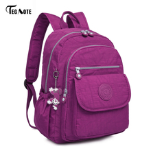 TEGAOTE Laptop School Backpacks for Teenage Girls Mochila Feminine Backpacks Anti-theft Waterproof Bags for Men Women(China)