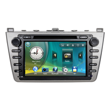 "8"" Car Radio DVD GPS Navigation Central Multimedia for Mazda 6 2008 2009 2010 2011 2012 Analog TV Phonebook Bluetooth Handsfree"