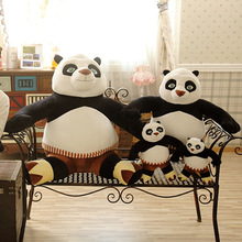 2016 Big Giant Panda Plush Toys 70cm Sit Gifts For Girls Kids Cartoon Animal Toys Kung Fu Panda 3 Dolls Soft Stuffed Toy