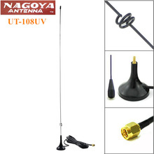 Nagoya UT-108UV SMA-M 144/430MHz Dual Band Antenna for Yaesu Vertex VX-1R VX-2R VX6R VX-8DR BaoFeng UV-3R TYT TH-UV8000D KG-UV9D