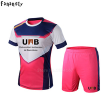 Top quality personalized custom football jerseys men set breathable youth soccer jerseys survetement football uniforms men