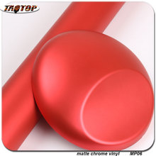 Buy wholesale 1.52x20m RoHS air bubbles free Matte Chrome Vinyl matte pearl film red color vinyl wraps cars for $98.10 in AliExpress store