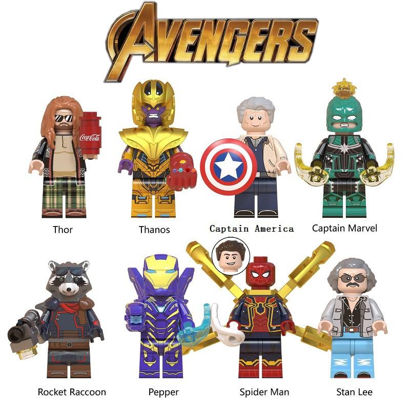 NEW SPIDERMAN AVENGERS minifigures end game MARVEL LEGO Fit mini figure UK HOME