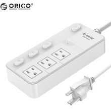 ORICO SPC-S3 High Value  Recommend Surge Protection Power Socket  IC for Ipad Iphone