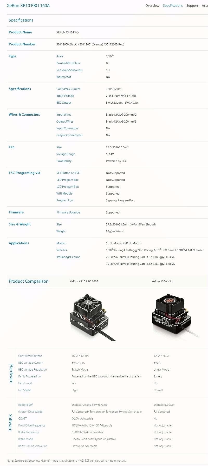 XeRun XR10 PRO 160A_Car Systems_HOBBYWING _ Welcom1_