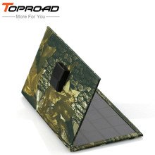 TOPROAD 6W Solar Power Bank Solar Panel Charger External Battery Universal Powerbank For iPhone For Xiaomi Phones MP3/4 PSP