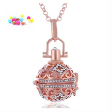 Hot Selling Angel Ball Bola Metal Copper Magic Box Perfume Diffuser Pregnant Women Pendant in Charm Necklace for women gift