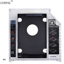 "Brand New Aluminum SATA to SATA 2nd HDD Caddy 9.5mm SSD HDD Case Enclosure Optibay for Apple Macbook Pro 13"" 15"" 17"" SuperDrive"