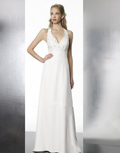 robe mariage pin up dress women dresses for sale A-line features beading lace deep V-bodice designer wedding dress