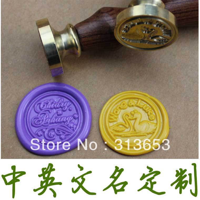 wax sealing /wax stamp for wedding  / (can choice design as you want)-free shipping<br>