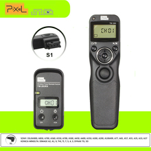 Pixel TW283 TW-283/S1 Wireless Timer Shutter Release Remote Control For Sony DSLR Camera a900 a850 a700 a560 a65 a77 a65, a57