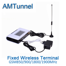 Gsm desktop phone GSM FWT fixed wireless terminal gsm terminal telefone fixo Quad band with LCD PABX GSM PBX