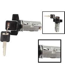 CAR-partment Ignition Key Switch Lock Cylinder 2 Keys For Chevrolet GM CSL2017(China)