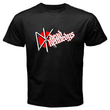 2017 Flash Print Cotton Tee Shirt Short Sleeve Tops The Dead Kennedys Logo Punk Rock Band Homme Short Sleeve