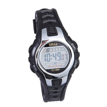 5 Colors Waterproof Children Boy Digital LED Sports Watch Kids Wrist Watch Boys Girls Bracelet school Use(China)